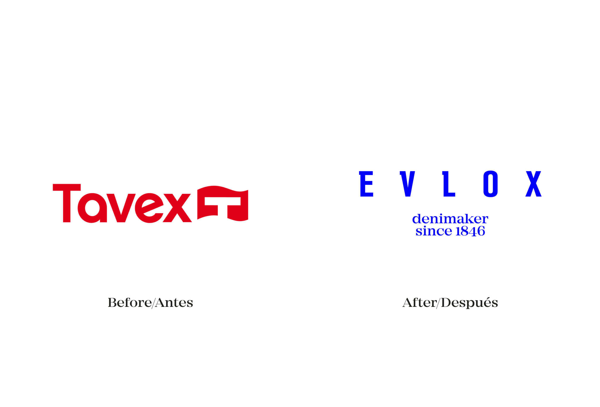 Tavex is now evlox